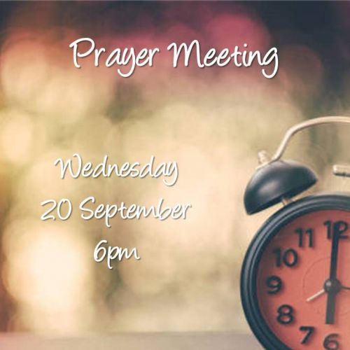 Prayer 20 September